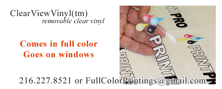 ClearView™ FullColorClearAdhesiveVinyl