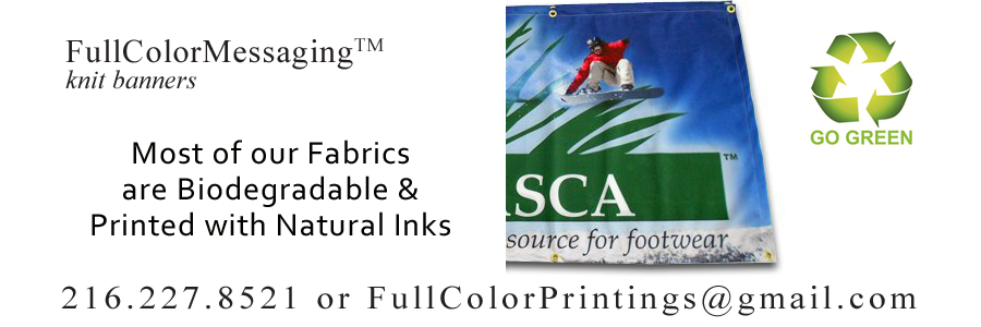 FullColorMessaging™ KnitBanners