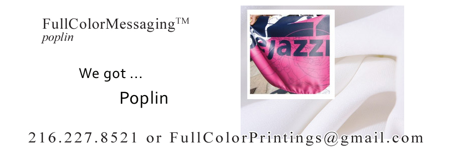 FullColorMessaging™ Poplin5