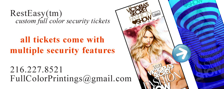RestEasy™ security tickets